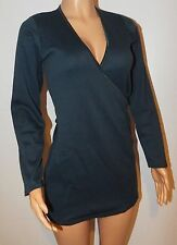 VICKY MARTIN blue turquoise cleavage jumper party dress long sleeved BNWT 10 12