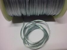 blue satin cord approx 2mm