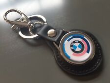 BMW Motorsport' ' Llavero de Cuero Real Llavero Fob Clave de alta calidad, Reino Unido Stock