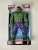 """Marvel Hulk 9.5"""" Plastic Action Figure Toy By Hasbro 2019 New In Box"""