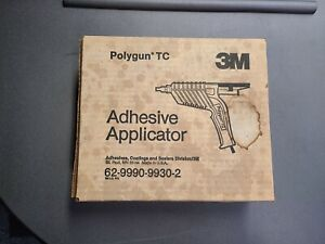 3M Polygun TC Hot Adhesive Applicator Gun - NEW - Includes Box/Manual