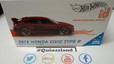 Hot Wheels ID 2018 Honda Civic Type R (NP48-49)