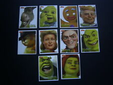 PASQUIER BRIOCHE PITCH CARDS SHREK FOREVER AFTER 2010 SET 10 (E4)