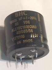 10000UF 63V HIGH RIPPLE RADIAL ELECTROLYTIC CAPACITOR BHC  ALC10C103EC   ad2L35