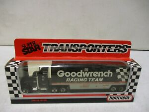 1990 Matchbox Dale Earnhardt GM Goodwrench Racing Team Transporter