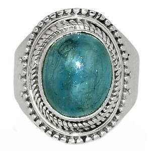 Aquamarine - Brazil 925 Sterling Silver Ring Jewelry s.6.5 AR136876 113Q