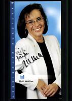 Ruth Walther HR Autogrammkarte Original Signiert ## BC 24383