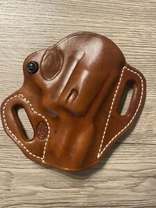 """el paso saddlery holster Smith & Wesson J Frame 2"""" Right/russet Retail $87"""