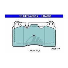 Uat ld4833 Bremsbelagsatz, Frein à Disque uat Ceramic 13.0470-4833.2 avant