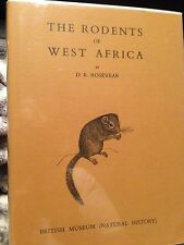 Rodents of West Africa Rosevear Mammals chiroptera zoology natural history rare