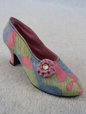 Just The Right Shoe Rose Court Miniature Collectible Shoe New in Box