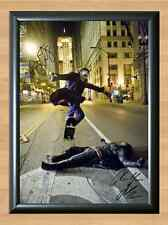 Batman Joker Heath Ledger Dark Knight Skate Signed Autographed A4 Poster Print