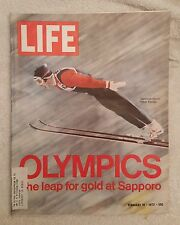 LIFE Magazine February 18, 1972; Olympics, Leap for Gold at Sapporo - RARE FIND!