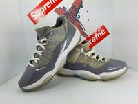 Nike Air Jordan 11 Retro Low Cool Grey White 528895 003 Men's Size 8.5