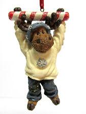 Boyd's #25008-1E Milburn Peppermoose Resin Christmas Ornament 1St Edition Nib