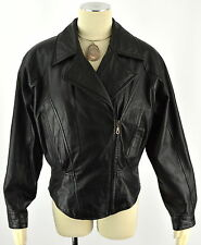WILSONS LEATHER Women's Motorcycle Punk Thinsulate Side Zipper Jacket  ~ Sz M