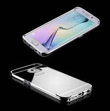 Espejo de aluminio, bumper, protección Samsung Galaxy s7 Alu, funda protectora, funda, protección bastidor de metal