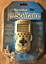 Excalibur e-Solitaire Electronic Handheld Solitaire Game NEW SEALED