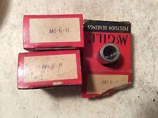 3-MCGILL  /bearings # MI-6-N ,30 day warranty, free shipping lower 48!