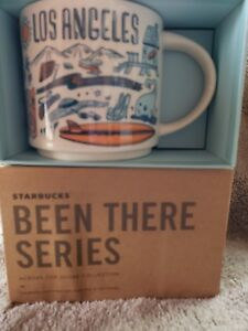 Authentic Starbucks Been There Series Los Angeles  CA Coffee Cup