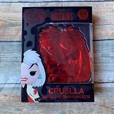 Funko X DISNEY VILLAINS Cruella de Vil Blush & Bronzer Kit ULTA EXCLUSIVE InHand