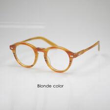 Retro vintage Johnny Depp eyeglasses womens kids blonde optical eyeglass small