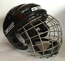 BAUER Hockey Helmet With BAUER True Vision II Mask. Black. Small 6 1/2-7 1/8