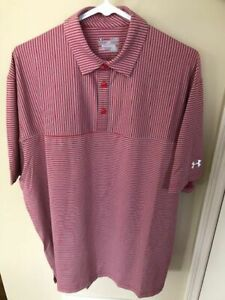 Under Armour Mens Extra Large Polo Shirt-New With Tags!-MSRP$75!
