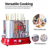 Volcanergy Smokeless Rotating Electric Oven BBQ Meat Shashlik Roaster Grill Tool