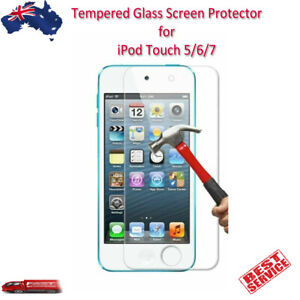 Tempered Glass Screen Protector for iPod Touch 5 6 7