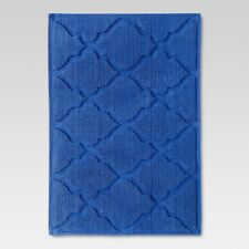 "Threshold Blue Monday Botanic Fiber Bath Mat, 21"" x 30"""