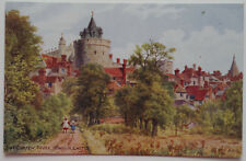 Postcard The Curfew Tower Windsor Castle Royal County of Berkshire Quinton 1920s