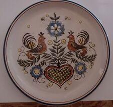 German Ulmer ceramic Keramik Decorated Plate