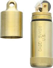 New Maratac Peanut XL Lighter Brass A45 (BRASS PEANUT XL LIGHTER)