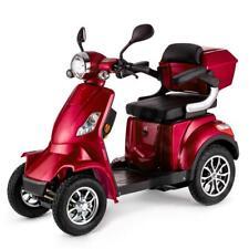 Scooter Elettrico 4 Ruote Disabili Anziani 25km/h 1000W VELECO FASTER ROSSO