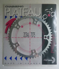 "NOS TA Specialties track chainring, 51t, 144 bcd, 1/8"", silver"