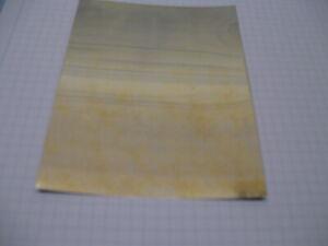 Mumetallfolie Abschirmfolie aus Mumetall Permalloy 0,1x87x320 mm schlussgeglüht