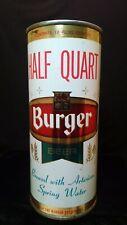 Burger Beer Half Quart - Late 1960'S - 16Oz Bank Top Can - Cincinnati