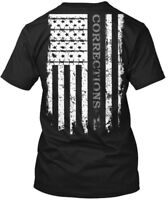 Corrections Flag - Hold The Line Hanes Tagless Tee T-Shirt