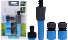 Gartenschlauch Adapter Set 4-tlg 1/2 Zoll Schlauchverbindung Wasserspritze NEU
