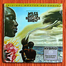 MILES DAVIS - BITCHES BREW  Numbered Limited Edition 2 x Hybrid SACD MFSL SEALED