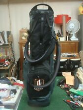 Ping Hoofer Golf Stand Bag - Black & Gray with logos - VERY GOOD SHAPE