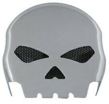 Chrome Skull Horn Cover for Harley Davidson RPLS Cow Bell style on 1993-later