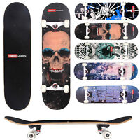 """Professional  31"""" x 8"""" Adult Skateboard Complete PU Wheels Maple Deck ABEC-7 NEW"""
