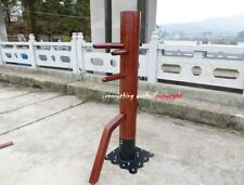 Solid Wing Chun Wooden Dummy Muk Yan Jong Suction Cup Style