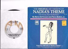 BARRY De VORZON * 45 * Nadia's Theme * 1976 #8 * UNPLAYED MINT *USA NOS Original