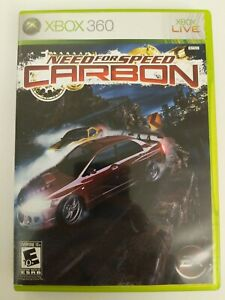 Need for Speed: Carbon CIB (Microsoft Xbox 360, 2006) Complete - FREE SHIPPING