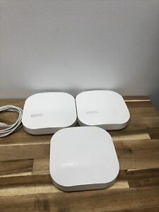 Eero Model No: A010001 - Three Units With Power Cords.