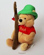 Vintage Disney Fishing Pooh with Pole - Bean Bag / Beanie - MWMT
