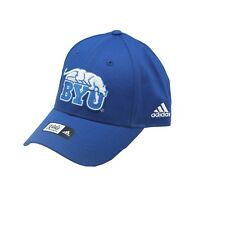 BYU Cougars Official NCAA Adidas Youth Kids Size Hook & Loop Hat Cap OSFM New